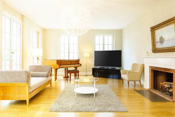 The Living Room of the Madison Apartment at Palais Kraft