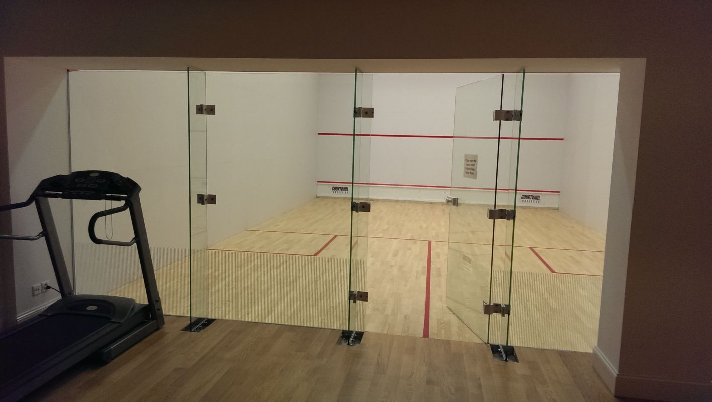 Squash Court at Palais Kraft