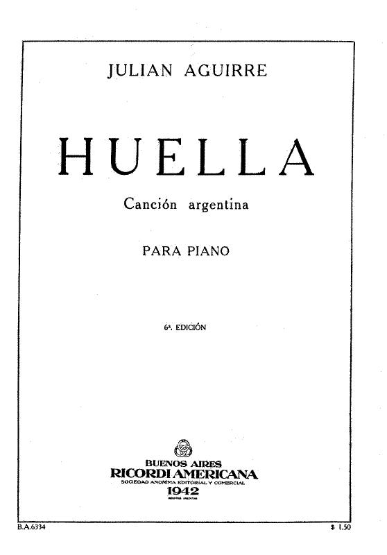 Julian Aguirre Huella