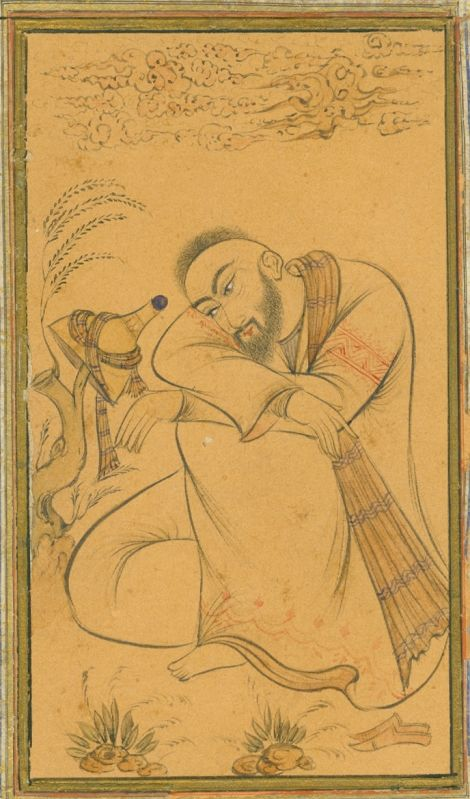 Iranian Poet from our collection