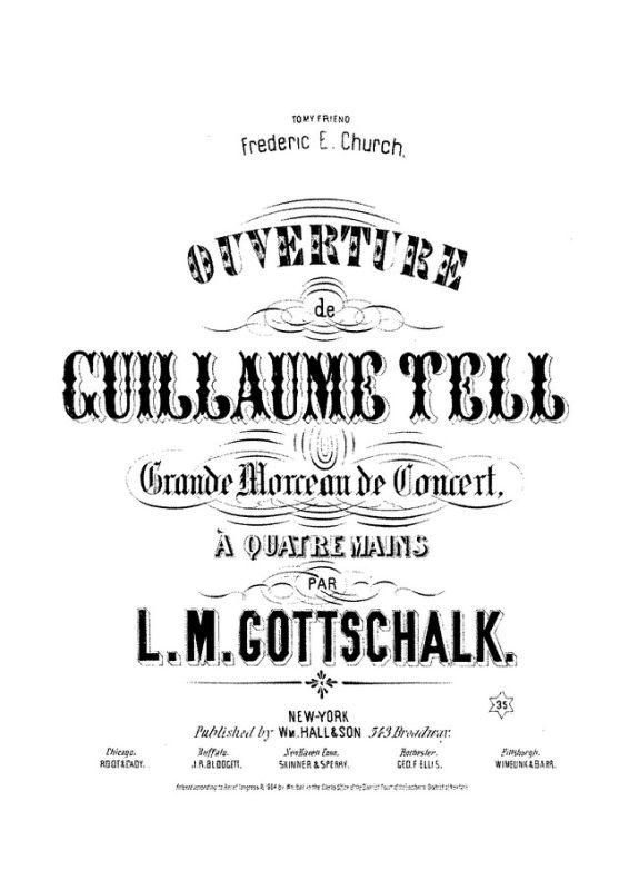 Ouverture de Guillaume Tell