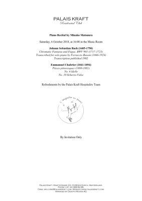 Program Recital 6 OCT 2018